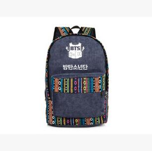 Новое поступление kpop Bangtan мальчики бтс группа национальный школьный корея рюкзак