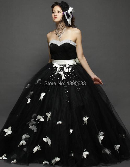 Индивидуальные размер бальное платье свадебное платье милая длиной до пола платье невесты