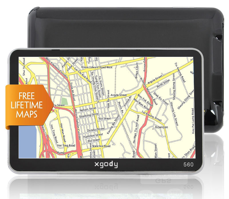 High quality 2015 New GPS 5 Inch 4GB HD Screen Online Car Navigat