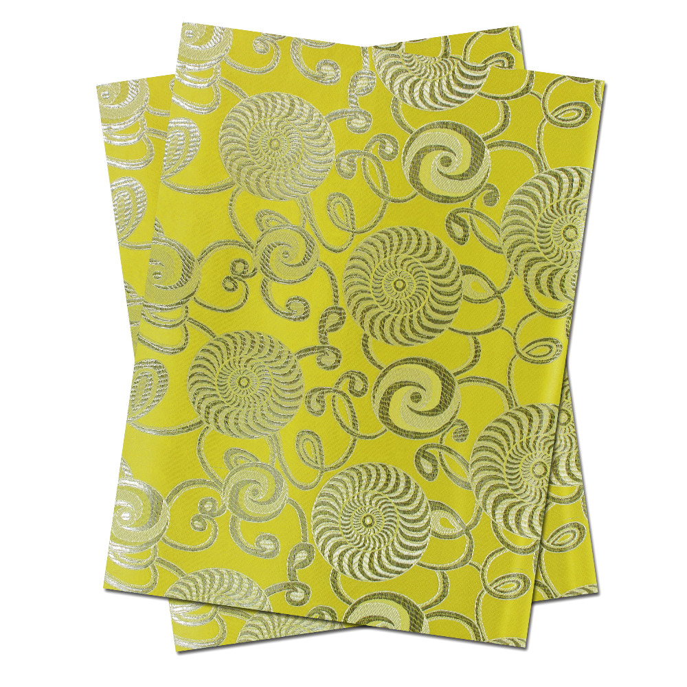 Free shipping African headtie,Head Gear, Sego Gele&Ipele,Head Tie & Wrapper, 2pcs/set HT0346 YELLOW(China (Mainland))