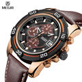 MEGIR Chronograph Sport Watch Men Analog Digital Watch Luxury Genuine Leather Band Fashion Men Watches Relogio