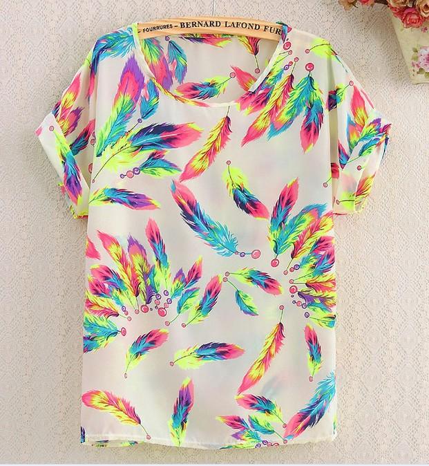 Женская футболка Brand New 2015 O Batwing femininO C1003-C1012 женская футболка new stripe top t 2015 o vt237