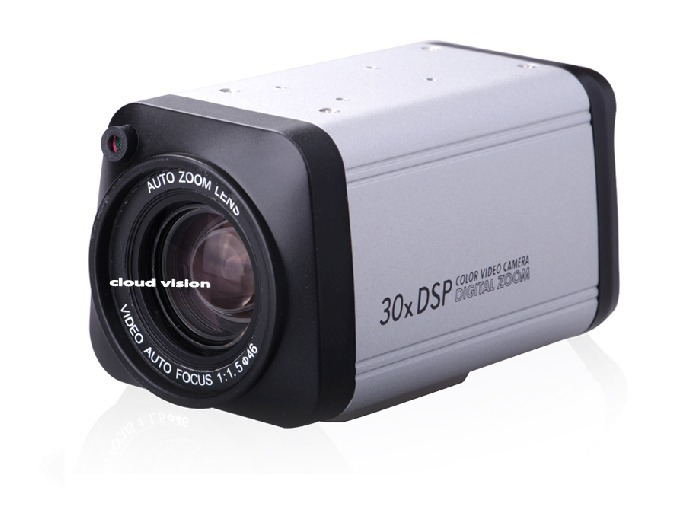 integrated camera automatic zoom camera700TVL EFFIO CCD CCTV 36x Varifocal Zoom Security Box Camera DSP RS485 free shipping(China (Mainland))