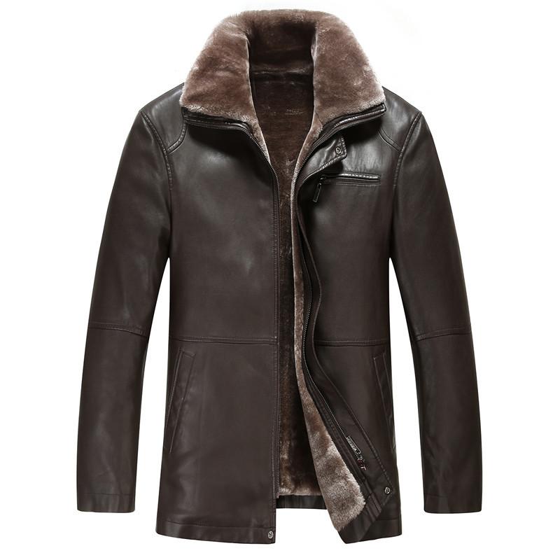 Big Size XXL XXXL Coats & Jackets Men's Leather Jackets ...