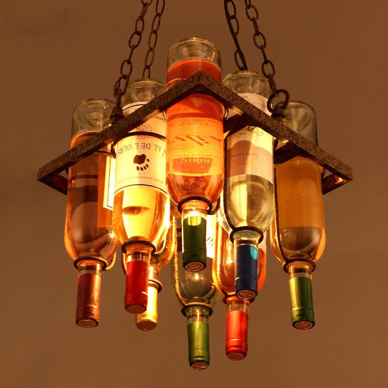 Creative pendant lights led edison bulb loft hanging lamp lampada lighting fixture for home - Creative hanging lights ...