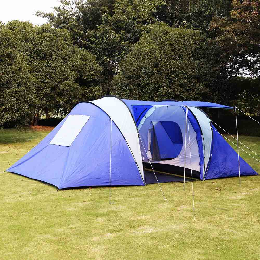 GOPLUS 2+1 Room 6-8 Persons Waterproof Tent Camping Family Tent Good Quality Family Travel Tent Large Party Camping Tent(China (Mainland))