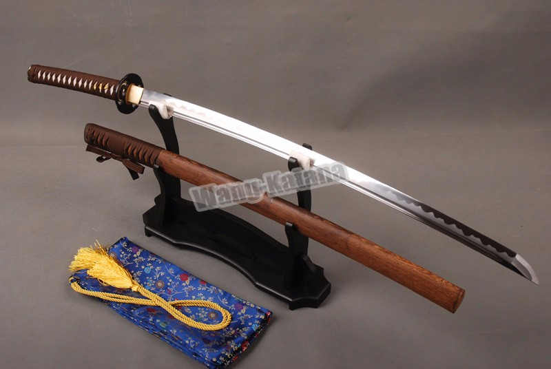 Buy Delicate Sharp Knife Home Metal Decoration Japanese Vintage Samurai Sword  1060 Carbon Steel Blade Katana cheap