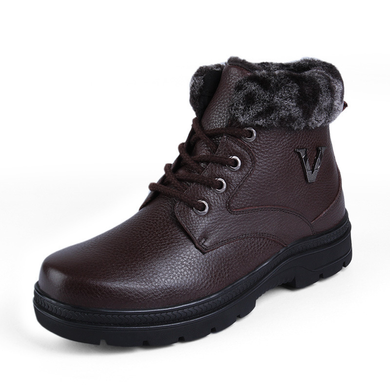 2016 new winter shoes snow boots warm wool big