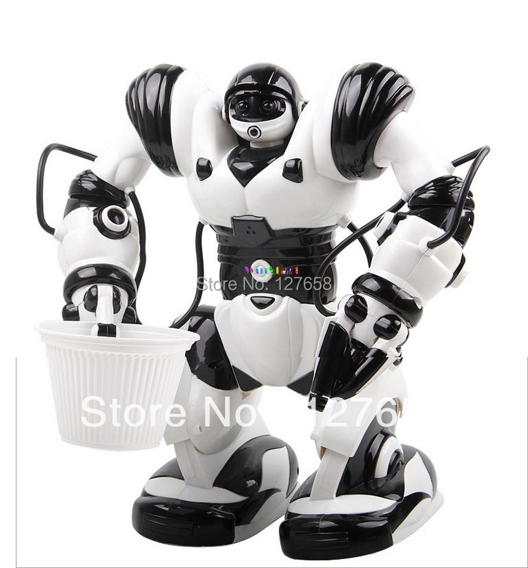 Jia Qi intelligent remote control robot toys for children Robben Ait II TT313 wireless remote control robot(China (Mainland))