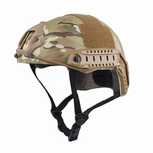 Buy Sports Helmets New Airsoft Skirmish Combat FAST Helmet MH TYPE Economy Version Multicam Black for Hunting Free Shipping for $31.18 in AliExpress store