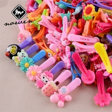 Buy Norvin Children Girls Hair Clips Hair Accessories Cartoon kids Girls BB Hairpin Fashion Girls Headwear 10 Pcs/set Colorful Top for $1.31 in AliExpress store