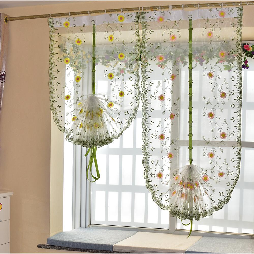 achetez en gros rideaux fleur motif en ligne des grossistes rideaux fleur motif chinois. Black Bedroom Furniture Sets. Home Design Ideas