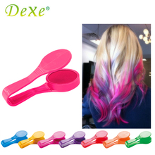 Dexe Temporary Hair Color Chalk Powder Beauty Gaga Halloween Party Makeup Disposable DIY Super Hair Dye Colorful Styling Kit(China (Mainland))