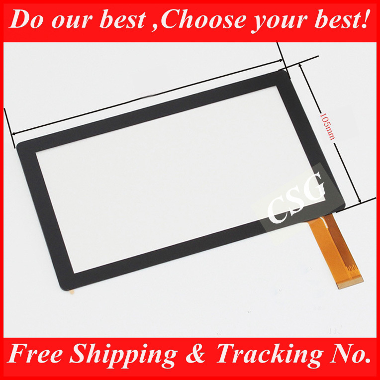 "20pcs/lot 7"" Capacitive Touch Screen with Glass Digitizer for 7inch Allwinner A13 Q88 BG830 MID Tablet PC Free Shipping(China (Mainland))"