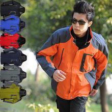 Free shipping Outdoor ski-wear, male waterproof breathable mountaineering wear warm fleece bladder 266(China (Mainland))