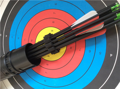 1 Piece Color Black Archery Hunting Outdoor Shooting Arrows Separator for Bow and Arrow Quiver