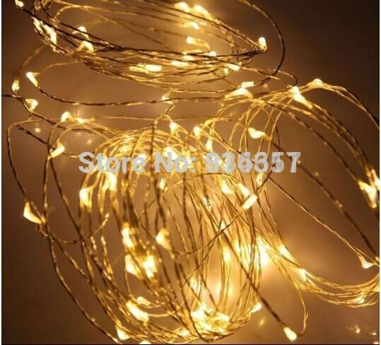 12 volt waterproof copper string light 10m 100 led outdoor christmas. Black Bedroom Furniture Sets. Home Design Ideas