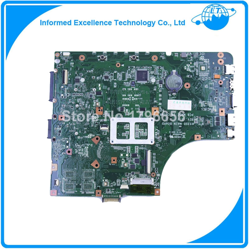 For ASUS K53E K53SD REV 2.3 intel Original laptop motherboard tested good(China (Mainland))