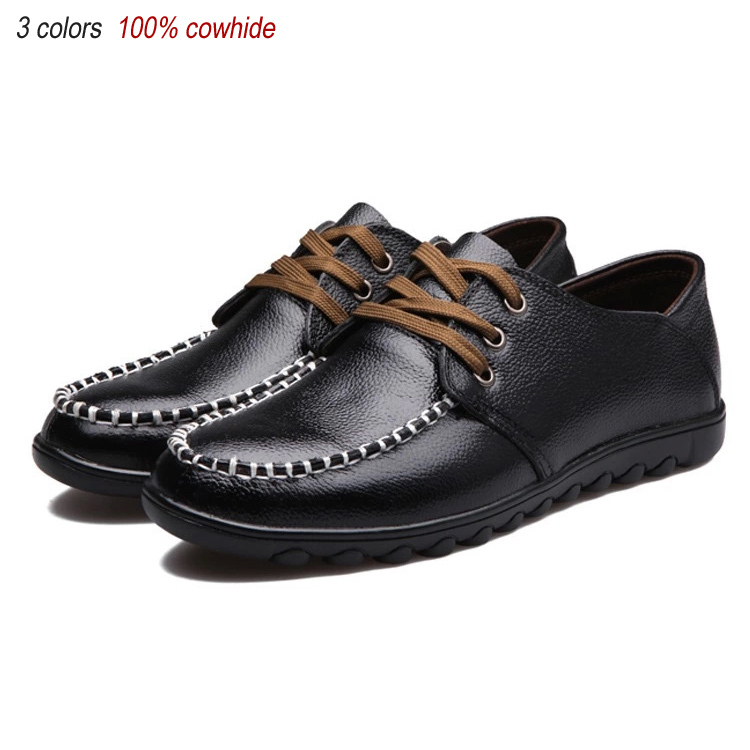 new 2014 genuine leather shoes fashion oxford shoes for