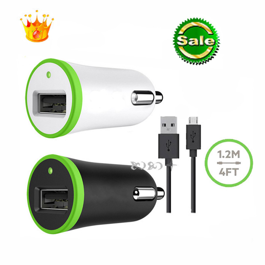 Brand new 5V 2.1A Car charger USB Ports for Sumsung Andrews mobile phone Belkin phone 6 5S 5C mini iPad(China (Mainland))