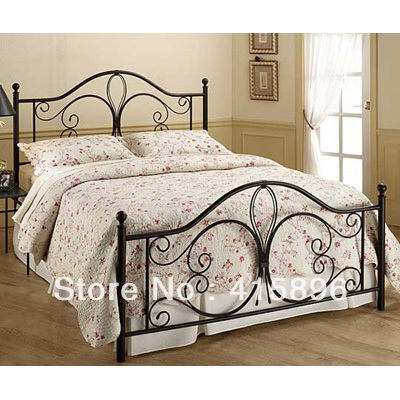queen size metal beds china(China (Mainland))