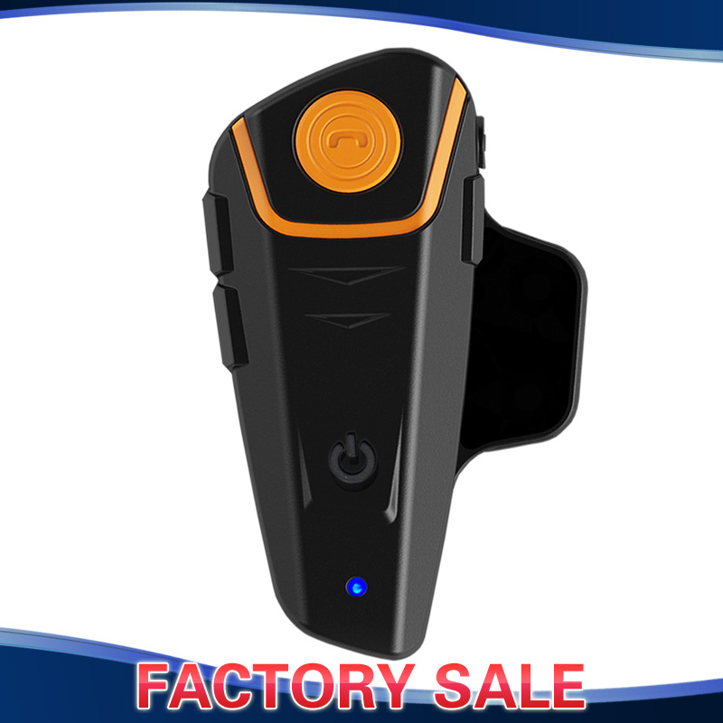 Motorcycle Bluetooth Headset 3.0 Communicate System With HD Audio Motorbike Scooter Waterproof Universal Noise Control Earphone(China (Mainland))