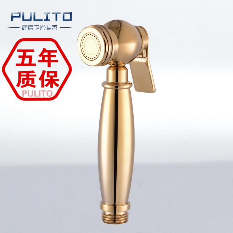 PolyOne более полный медь и золото туалет биде биде мыть партнера-Европейский антикварный ванная комната небольшой пистолет 052