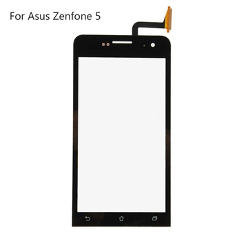 Original Touch Screen Window Replacement For Asus Zenfone 5 LCD 5.5 Inch Digitizer Touch Panel Sensor Front Glass + 2 side Tape
