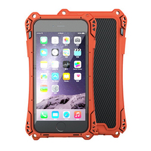 R-Just Metal Mobile Phone Case for iPhone SE 5 5S 4.0 inch Waterproof/anti-knock/dustproof Tempered Gorrila Glass Back Cover