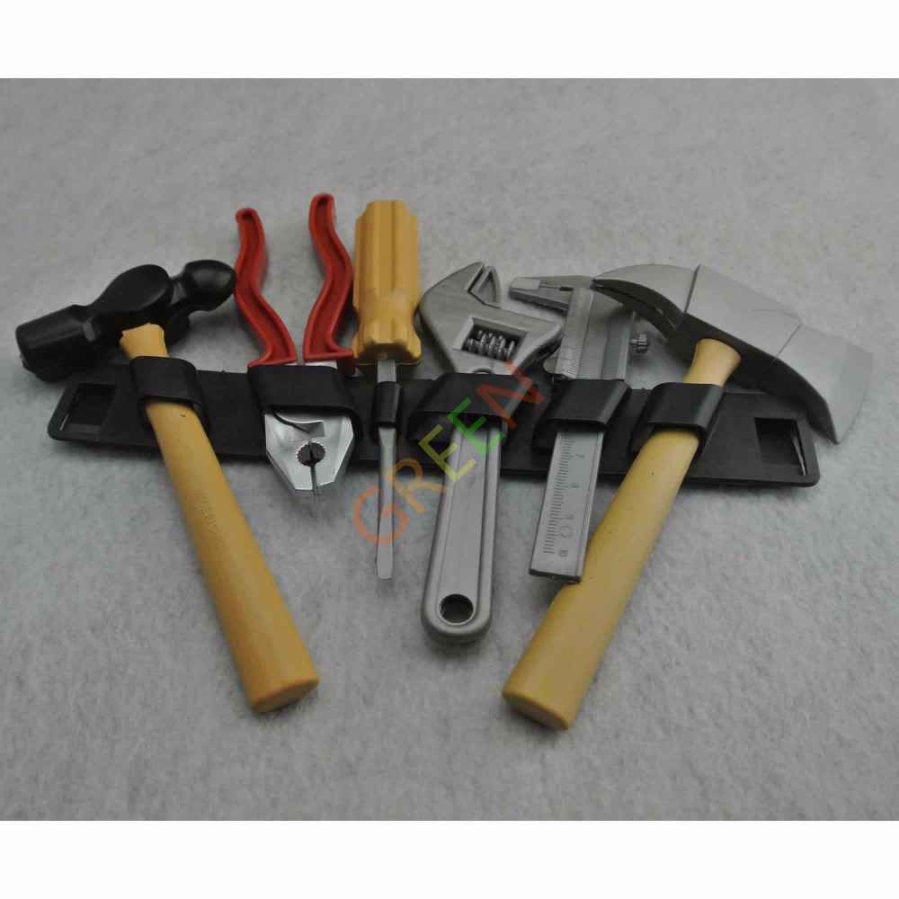 Plastic Building Tool Kits Set Builders Kids Diy Construction New Intellectual Toy(China (Mainland))