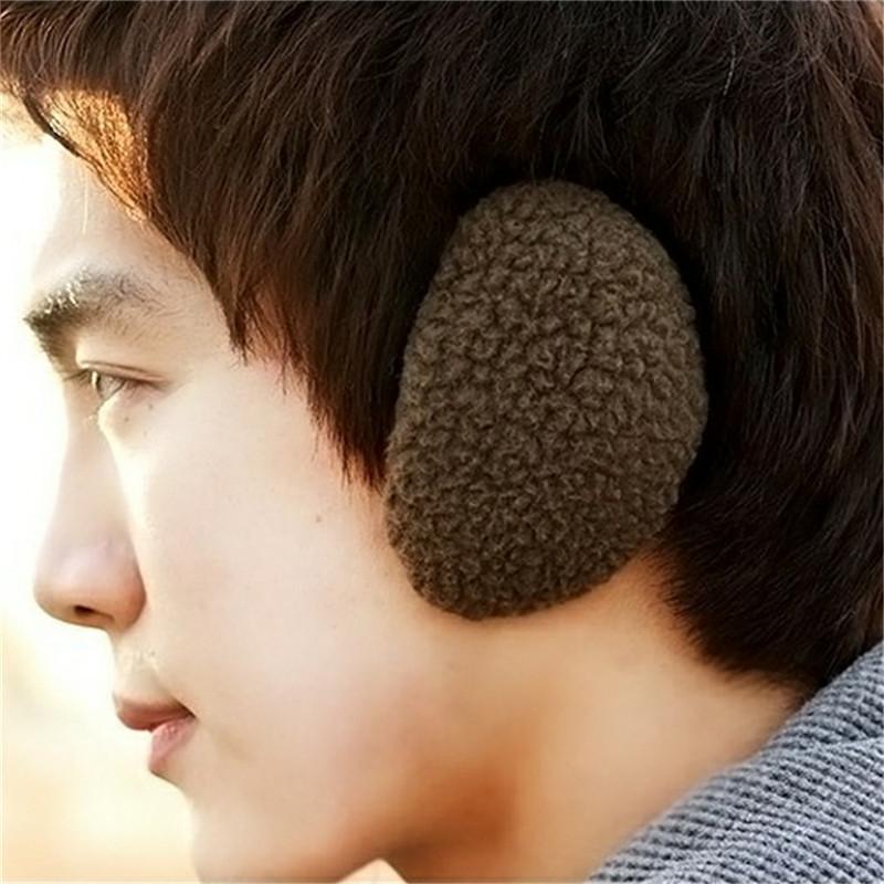 1pair Fashion Men Women Earbags Earmuffs Ear Muff Bandless Fleece Ear Warmers Men Women Earcap Winter Outdoors CJ626(China (Mainland))