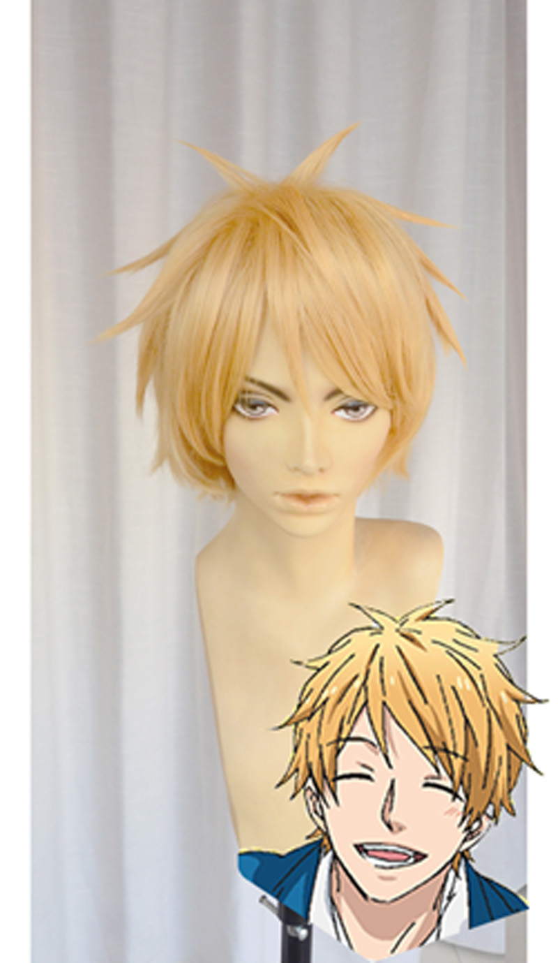 Anime Rainbow Nijiiro Days Hashiba Natsuki Cosplay Wig<br><br>Aliexpress