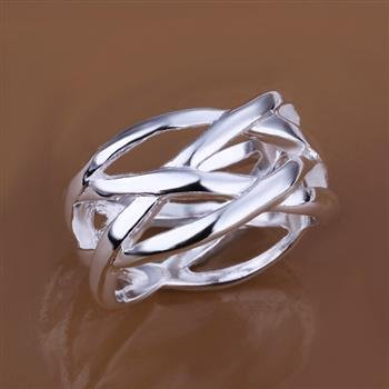 GDSFG Fashion Jewelry 925 Silver Fish Web Ring R010-10 D(China (Mainland))