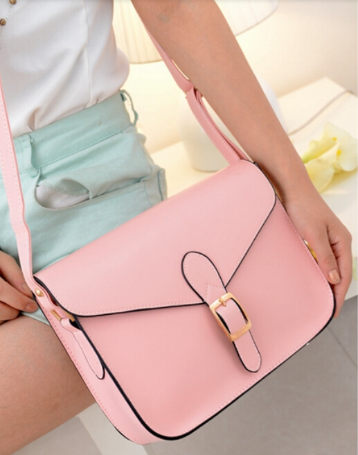 100% Women's handbag messenger bag preppy style vintage envelope shoulder briefcase - Fashion Leather Clothes center store