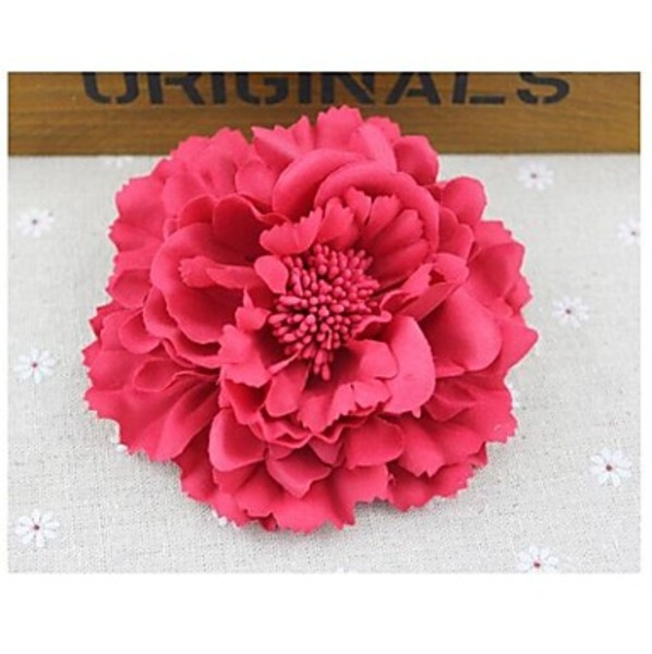 Dreamstar Sweet Bohemia Style Beach Peony Hair Clips Hair Accessories Random Delivery(China (Mainland))