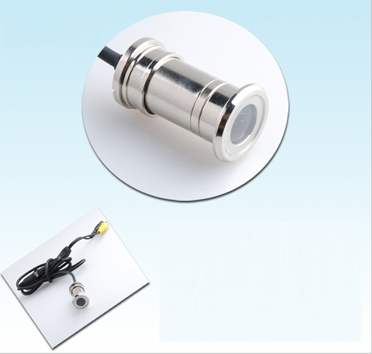 Cctv door eye hole color mini camera lens 480tvl 1 4 for Door eye hole