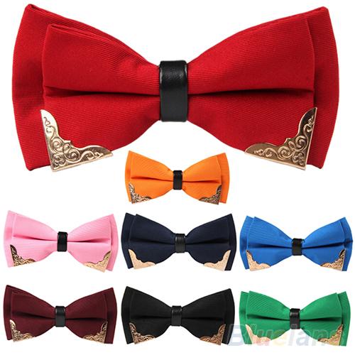 Гаджет  Classic Solid Satin Adjustable Tuxedo Wedding Party Men Bow Tie Bowtie Necktie  None Одежда и аксессуары