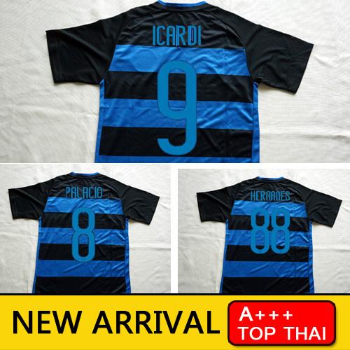 Free Shipping INteres MIlanes 2016 Jersey KOVACIC HERNANES Shirts 15 16 Icardi home survetement Football Italy soccer jerseys(China (Mainland))