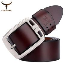 100% cuir de vache ceintures de cuir véritable pour les hommes BAIEKU marque Strap broche mâle boucle fantaisie cintos jeans vintage de cow - boy z01 freeshipping(China (Mainland))