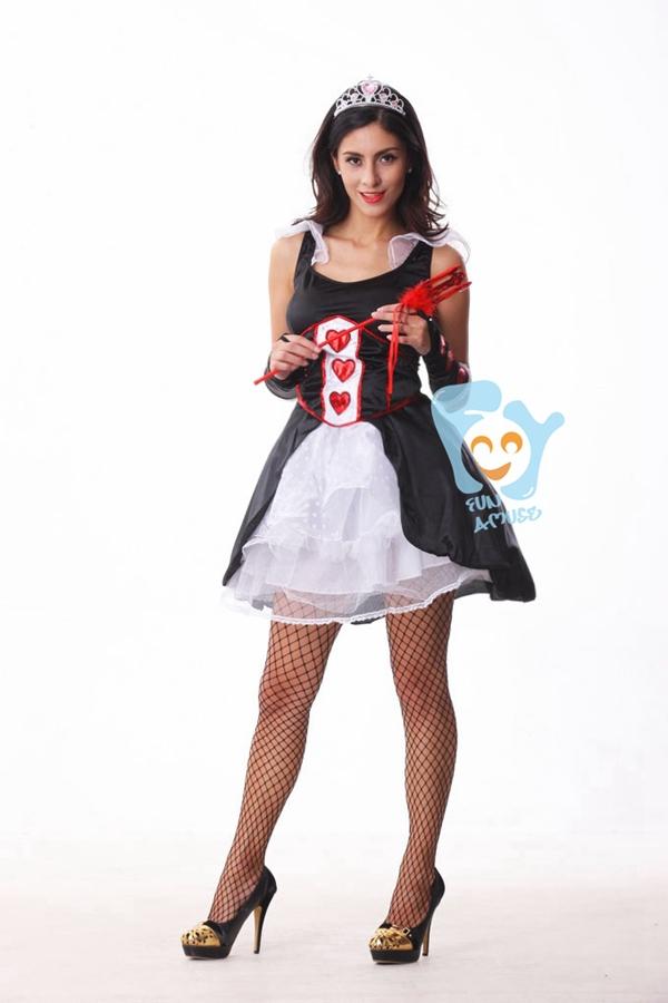 Poker girl costume