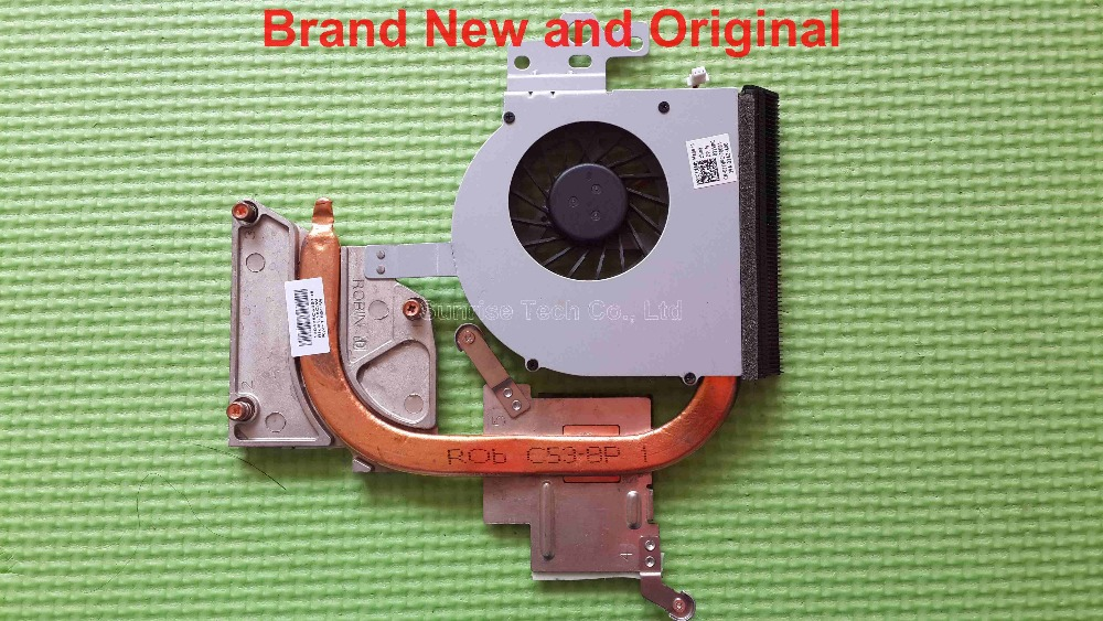 Brand new and original heatsink with fan for Dell Inspiron N5110 M5110 laptop heatsink cooler radiator 0J1VPC(China (Mainland))