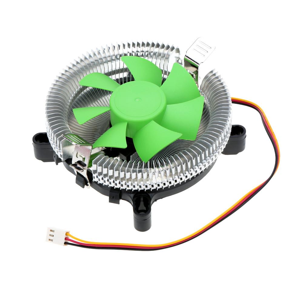 For Intel LGA 775/115X AMD AM2/754/939/940 BDK Universal Hydraulic Bearing Silent 80mm CPU Cooler Cooling Fan Radiator(China (Mainland))