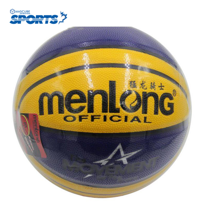 Basketball Official Size7 PU Indoor Outdoor Leather Basket Ball Training Equipment Sport Accessories New Design(China (Mainland))