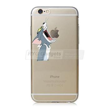 Etui do iphone 6 6S sylikonowe plecki transparentne kreskówki