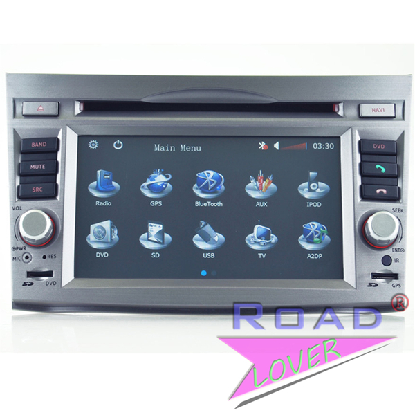 '6.2'' Car PC DVD Player for Subaru Outback/ Legacy 2009 2010 GPS Navi Radio Stereo Video Multimedia BT TV RDS Ipod AUX USB(China (Mainland))