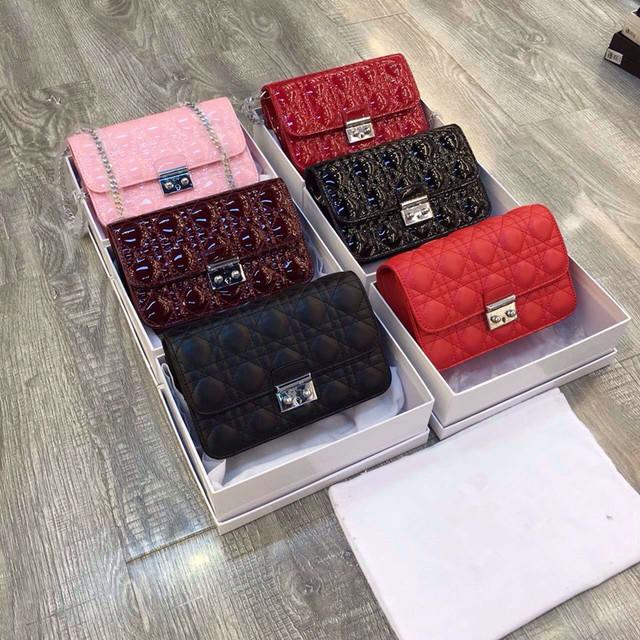 2016 мода женщины логотип бренда сумка цепь классический сетки сияющий сумка 107