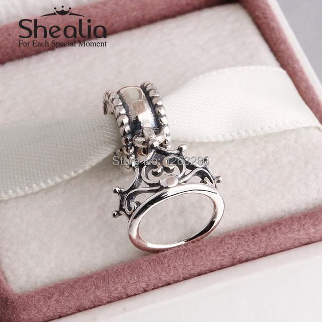 Весна 2015 новый ариэль тиара мотаться подвески стерлингового серебра 925 ювелирные изделия для женщин подходит известного бренда diy браслеты SH0628