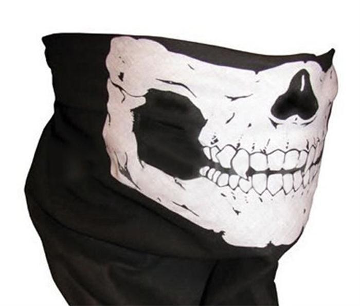 que549 Wholesale Hiphop Hijab Skull Multi Function Seamless Bandana Motorcycle Biker Face Mask Neck Tube Scarf Sport Scarves(China (Mainland))