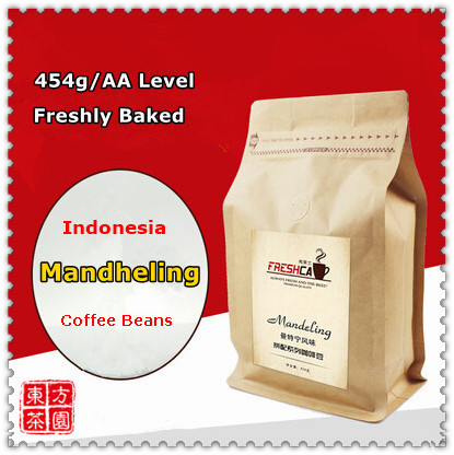 Hot Sale AA Level Indonesia Mandheling Coffee Beans Green Coffee Slimming Dark Roast After Order Fresh