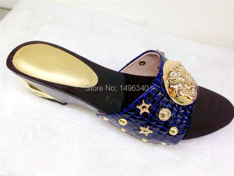 blue!2015 Fashionable Design Popular Bride Shoes Italian Woman Shoe With Brand!MD-388(China (Mainland))